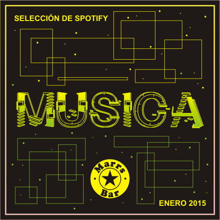 Lista de Musica del Marrs Bar 2015